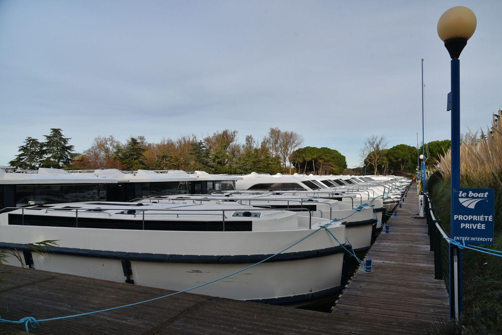 Port Cassafières... cet hiver