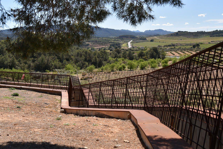 Mémorial les Composines à Poble Vell de Corbera : Côte 402