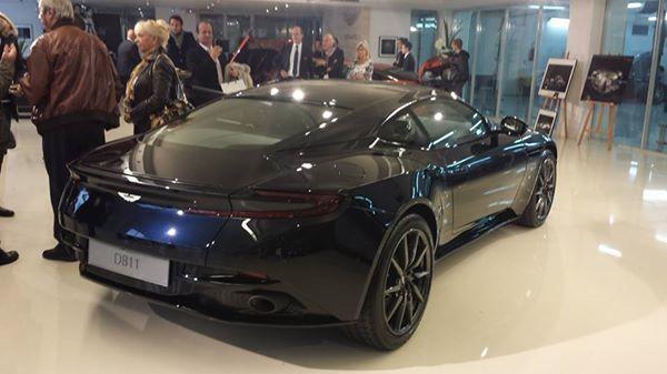 Présentation de l'Aston Martin DB11 chez AUTO PERFORMANCE !