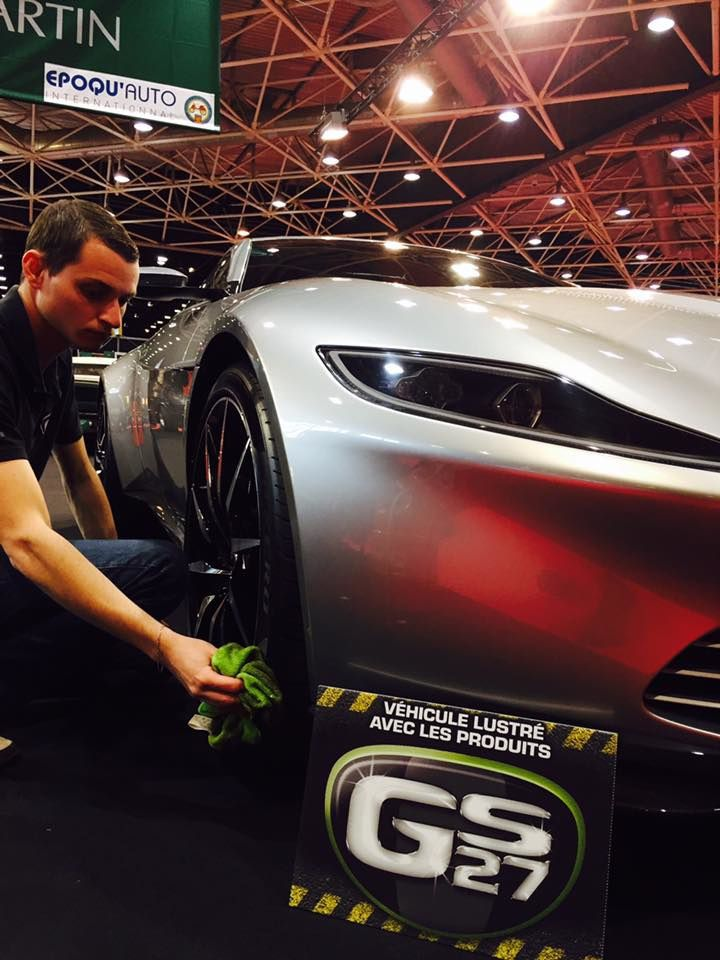 Salon EPOQ'AUTO 2016 : GS27 cire la DB10 de James Bond !