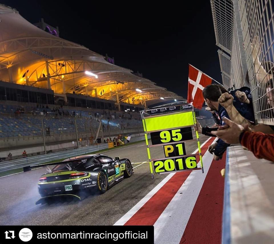 Aston Martin : Champion du Monde des Pilotes FIA WEC 2016 !