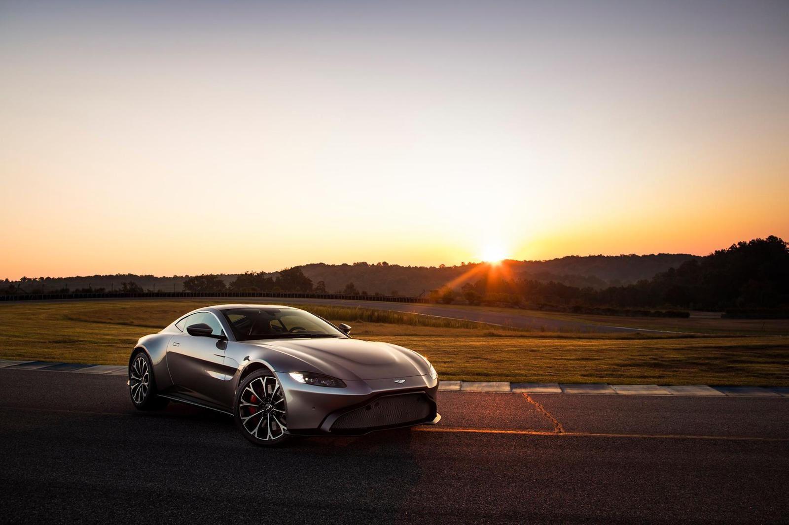 New Aston Martin Vantage !!! En moins yellow :-)