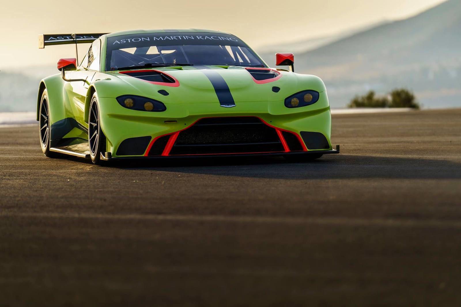 New Aston Martin Vantage GTE PRO