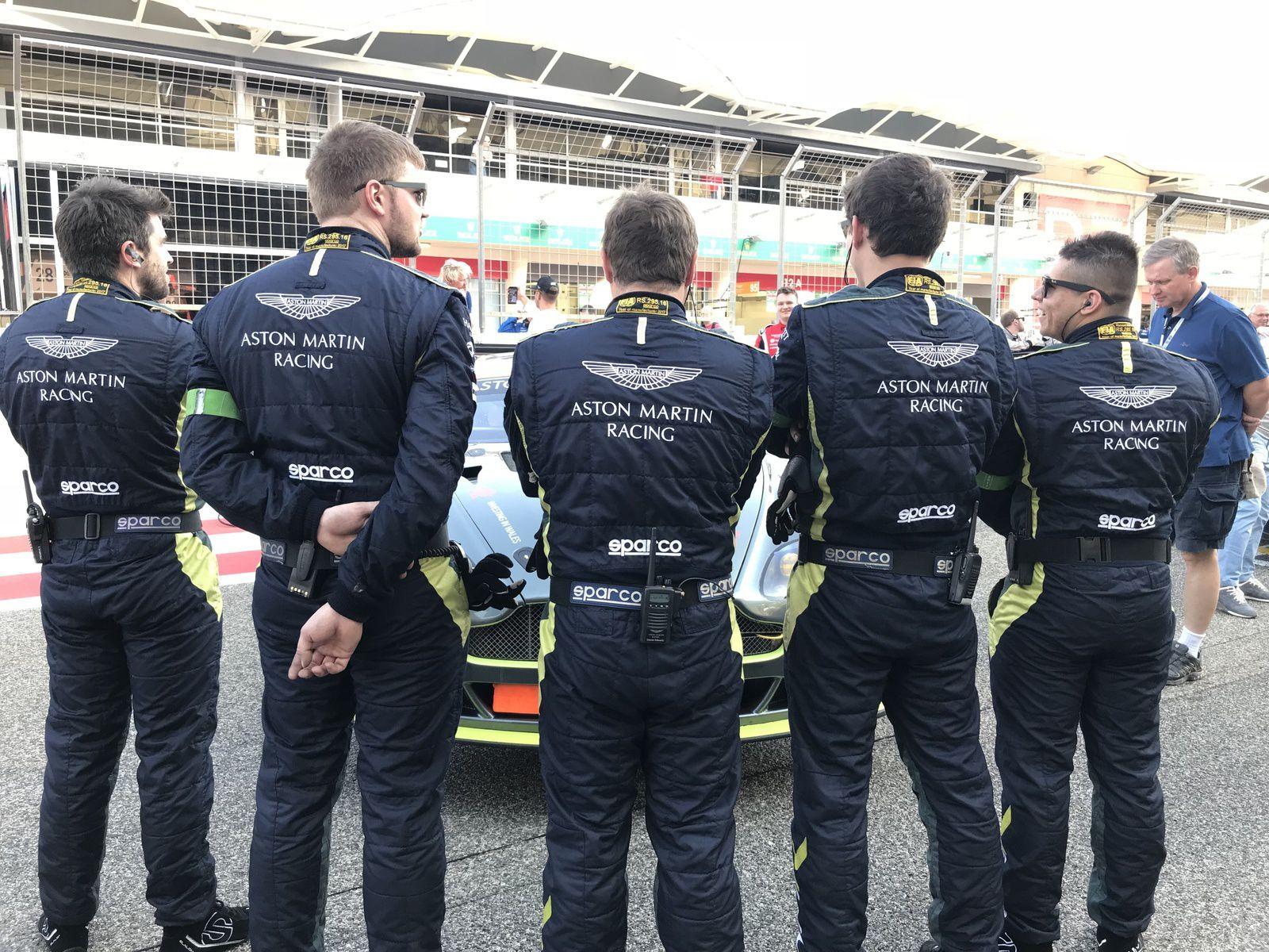 6 Heures FIA WEC de Bahrain... AMOC inside !