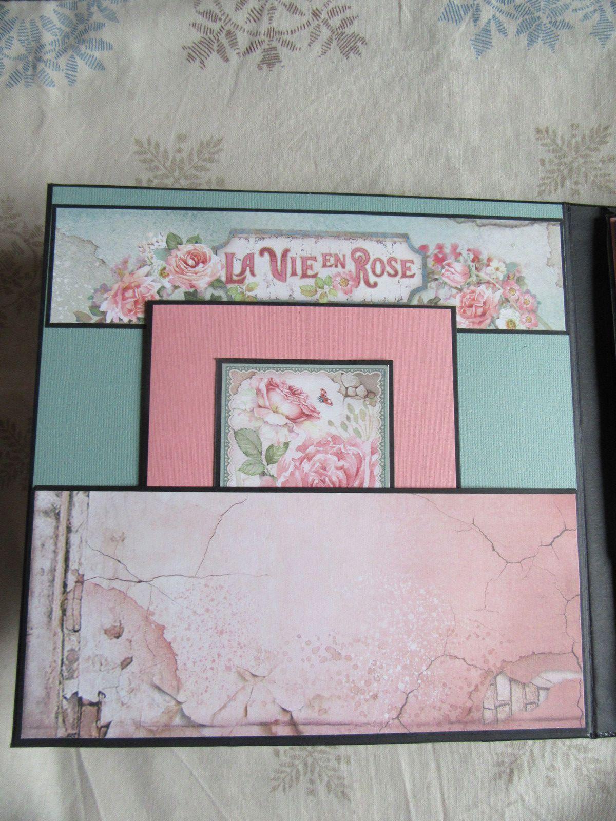 """Album """"La vie en rose"""""""