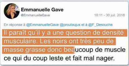 Emmanuelle Gave ne connaît pas Mehdi Metella