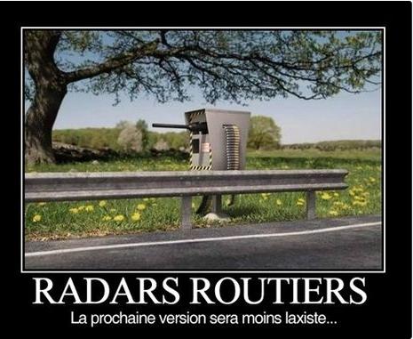 Pour en finir avec les radars et les caméras vidéos