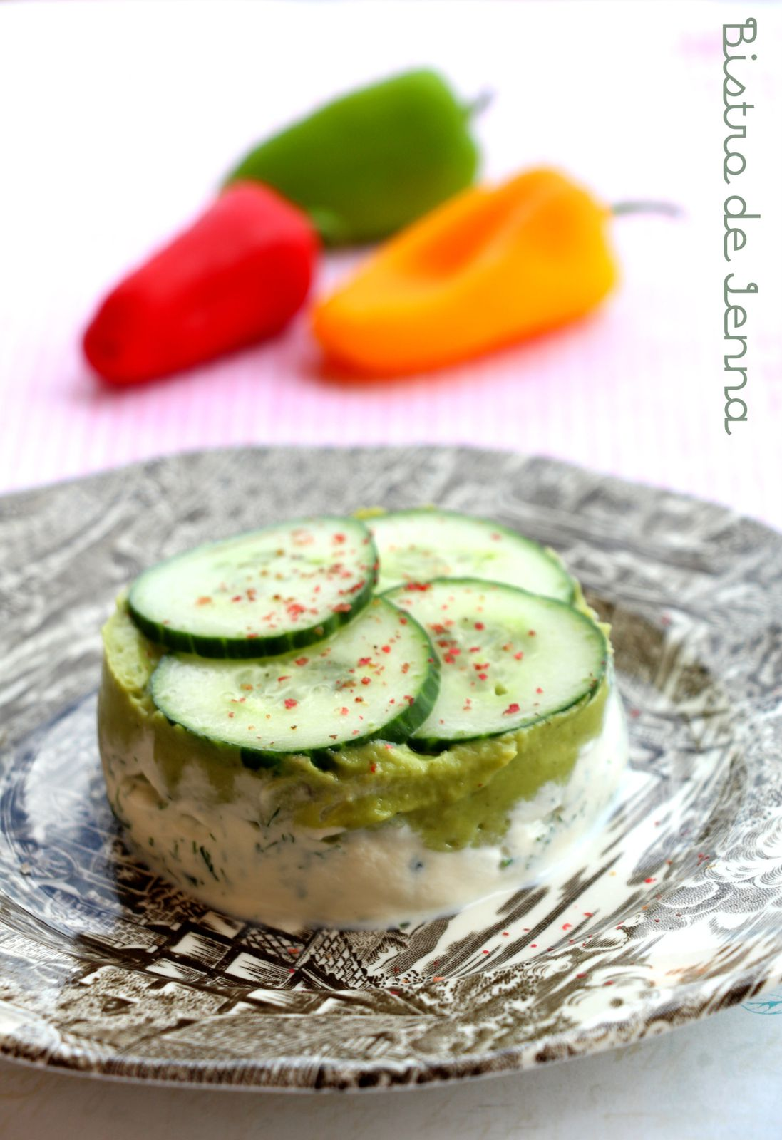 Cheesecake ricotta et avocat