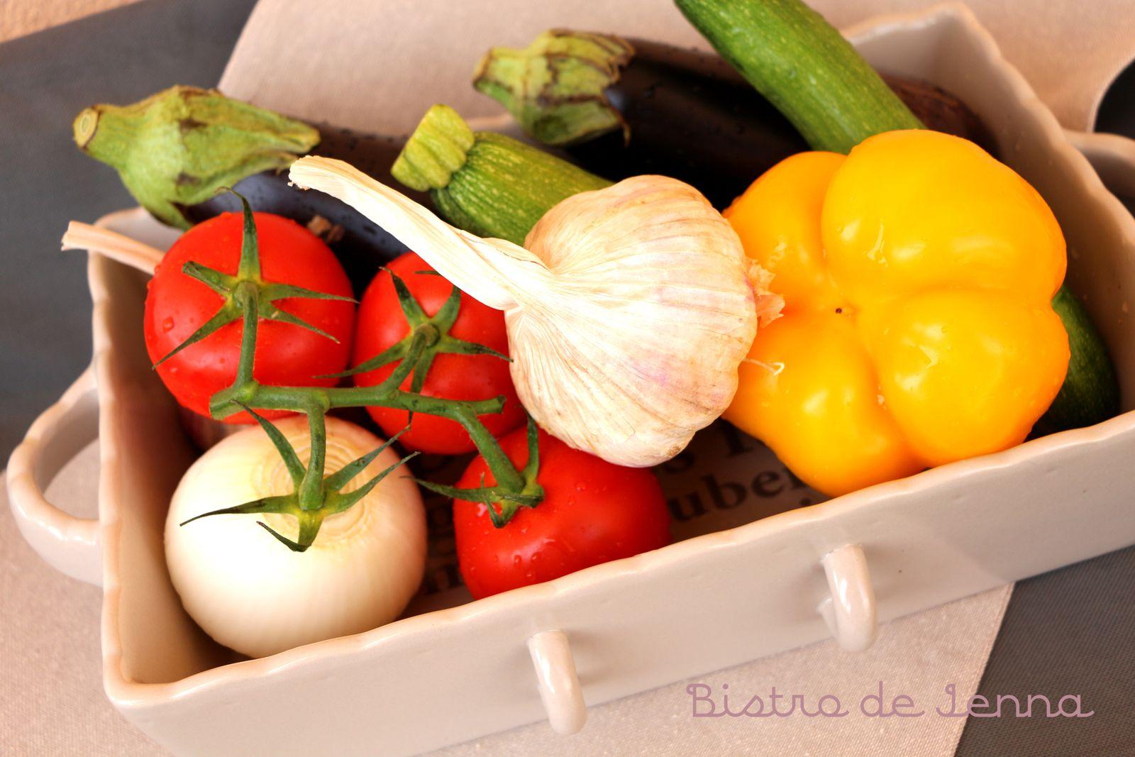 Légumes de Provence gorger de soleil.
