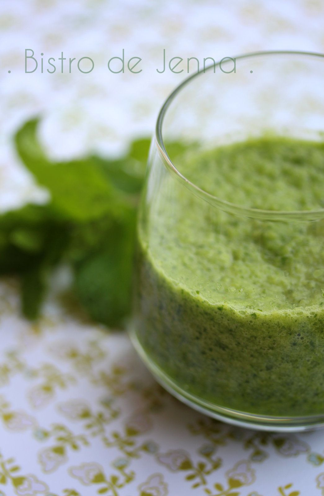Green Smoothie- boisson aux épinard