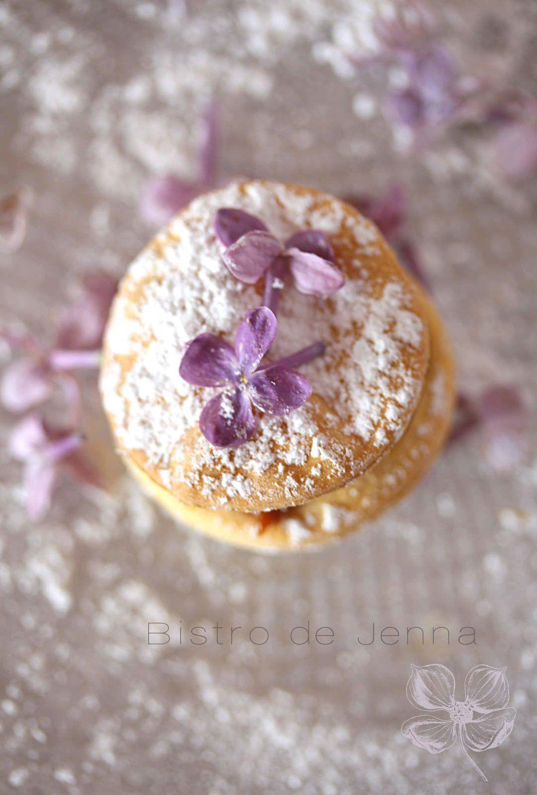 Biscuits Alfajores au mascarpone et confiture au lait