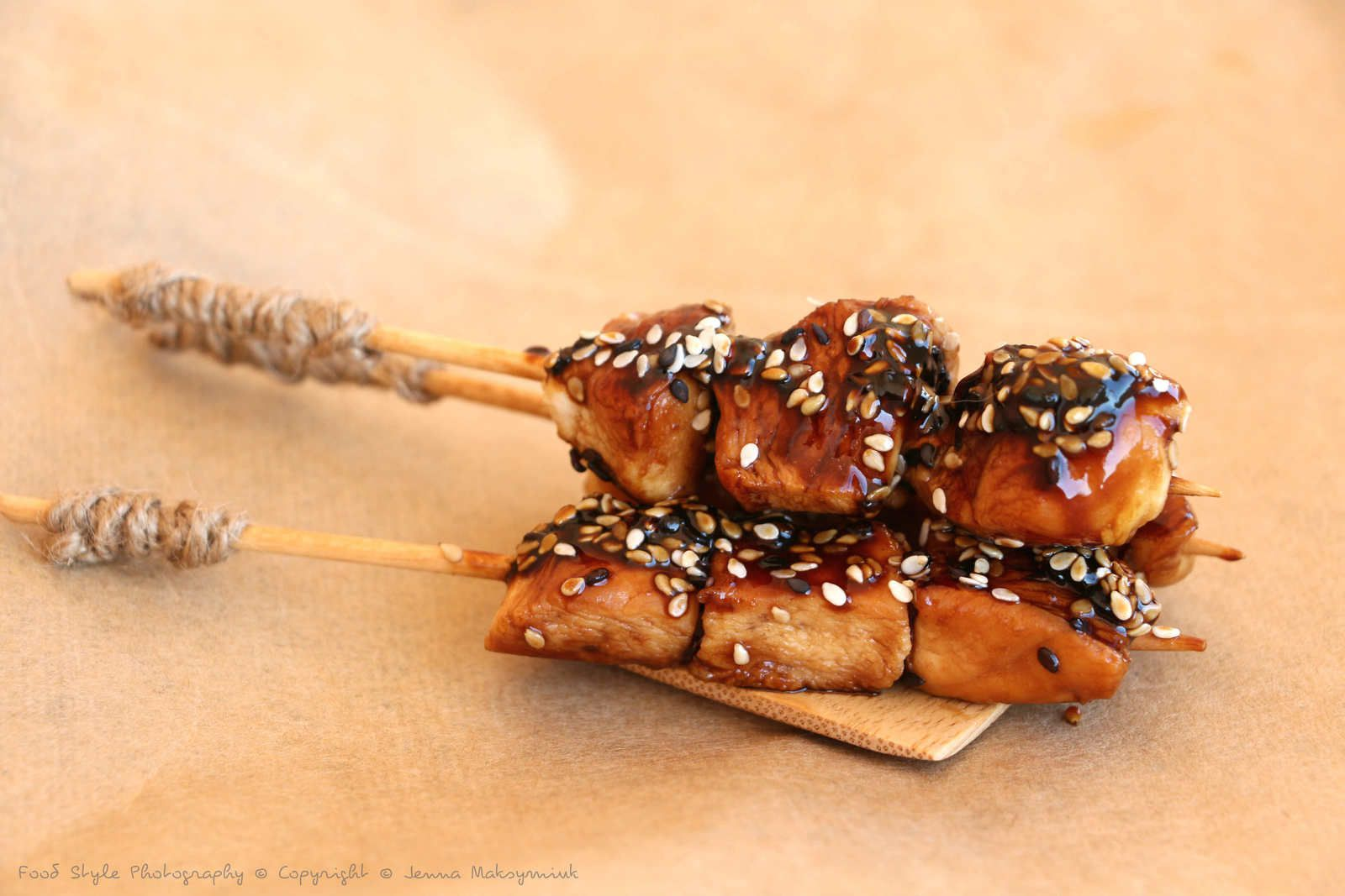 Poulet teriyaki Food Style Photography © Copyright © Jenna Maksymiuk