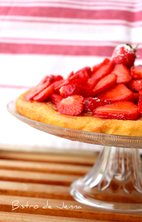 Tarte aux fraises de Carpentras