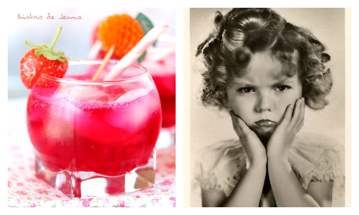 Cocktail pour enfant à la mémoire de Shirley Temple