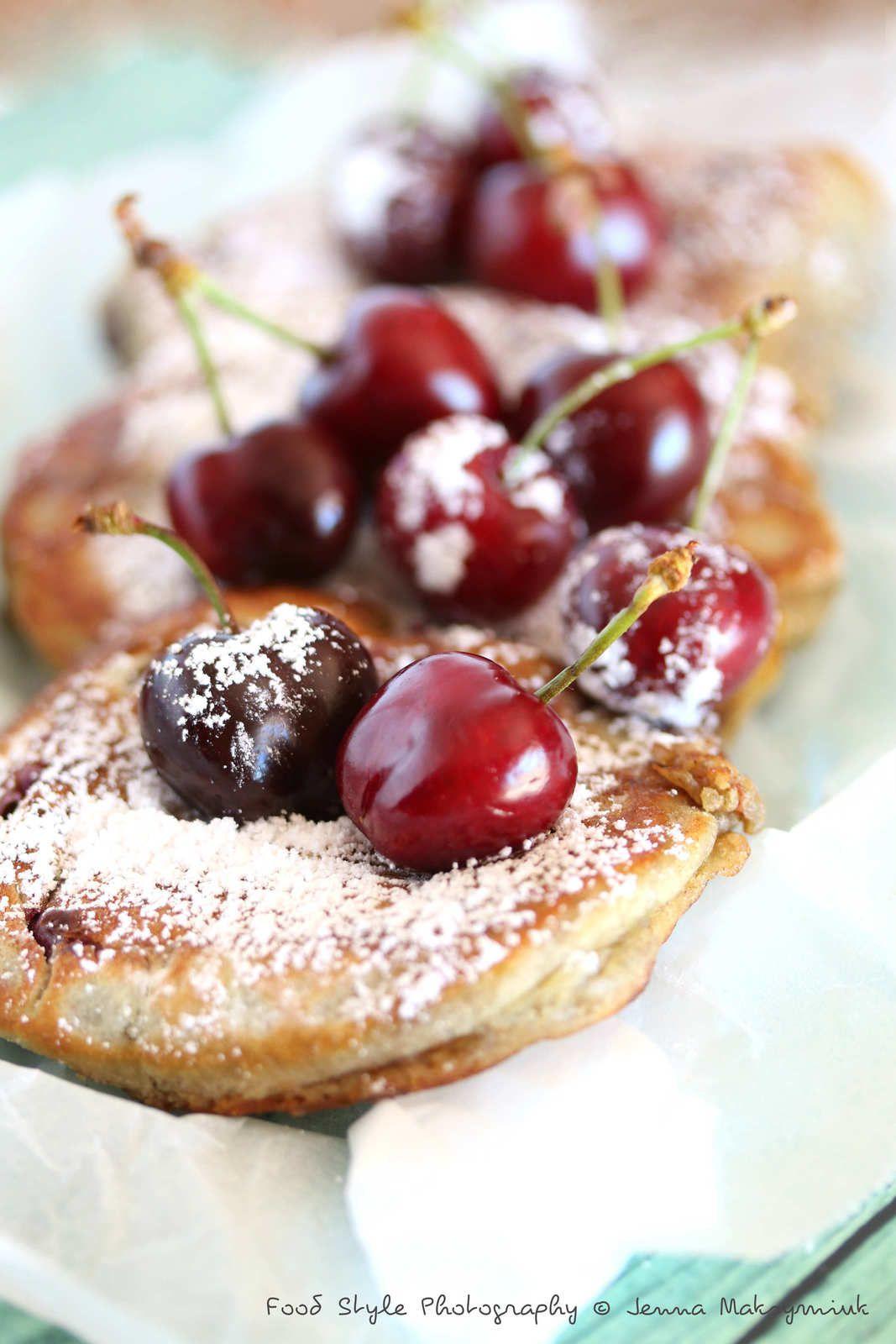 Pancakes aux cerises