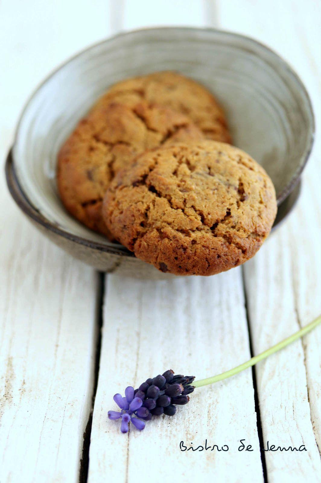 Cookies au chocolat noir IG bas