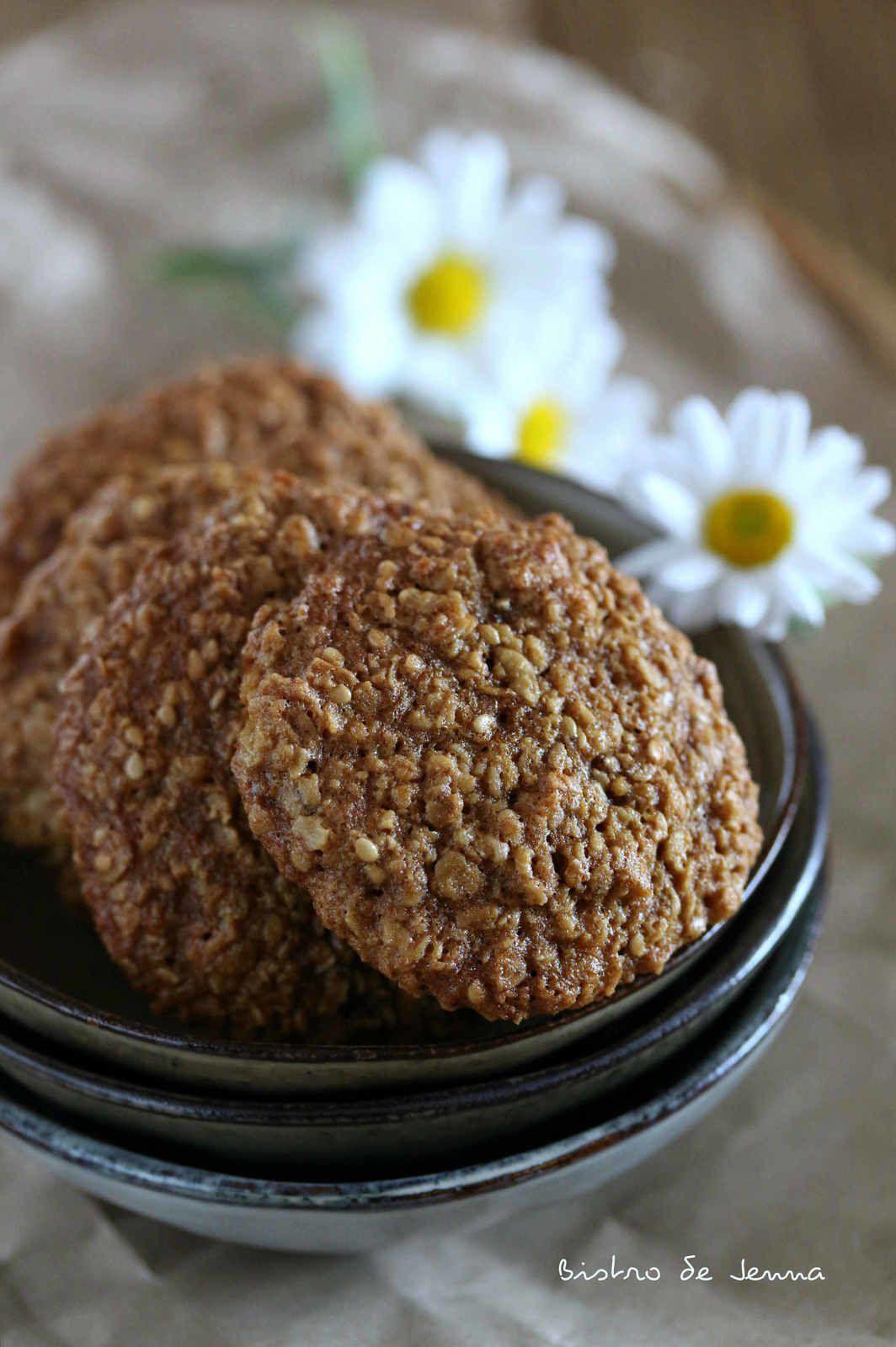 Cookies aux flocons et son d'avoine