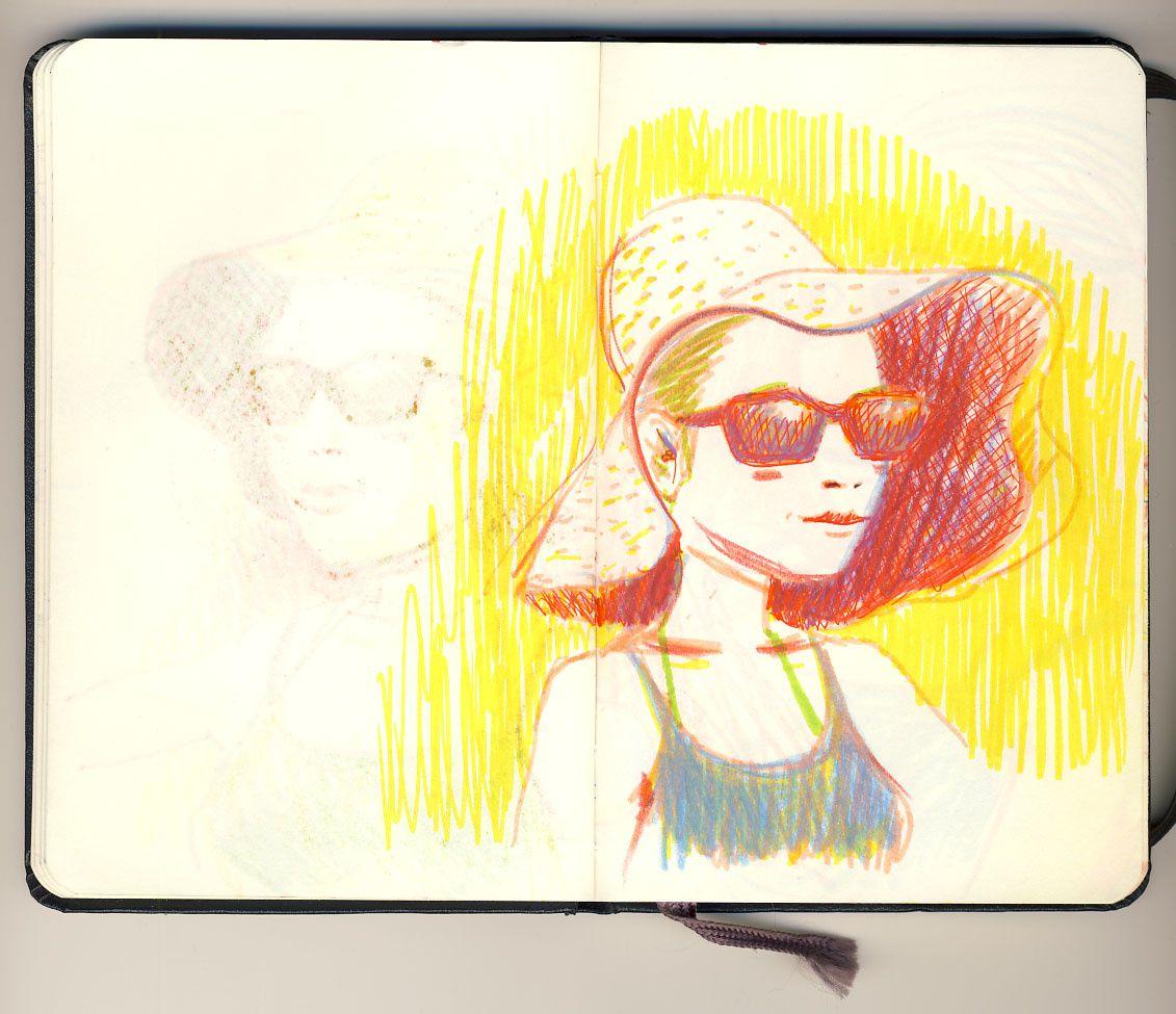 Lombok : chapeau et lunettes