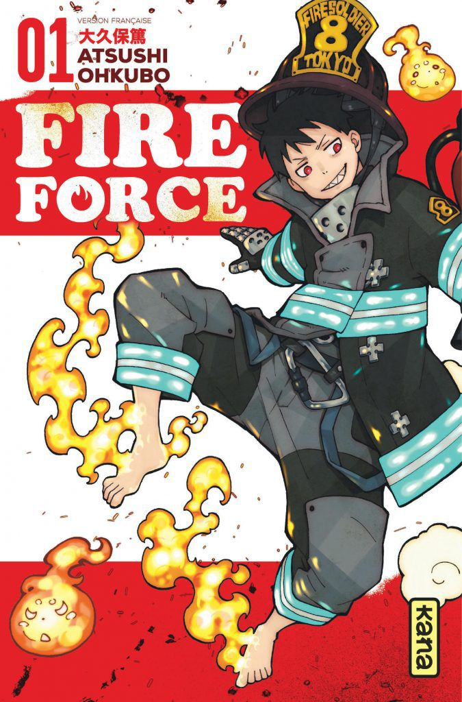 Fire Force, tome 1
