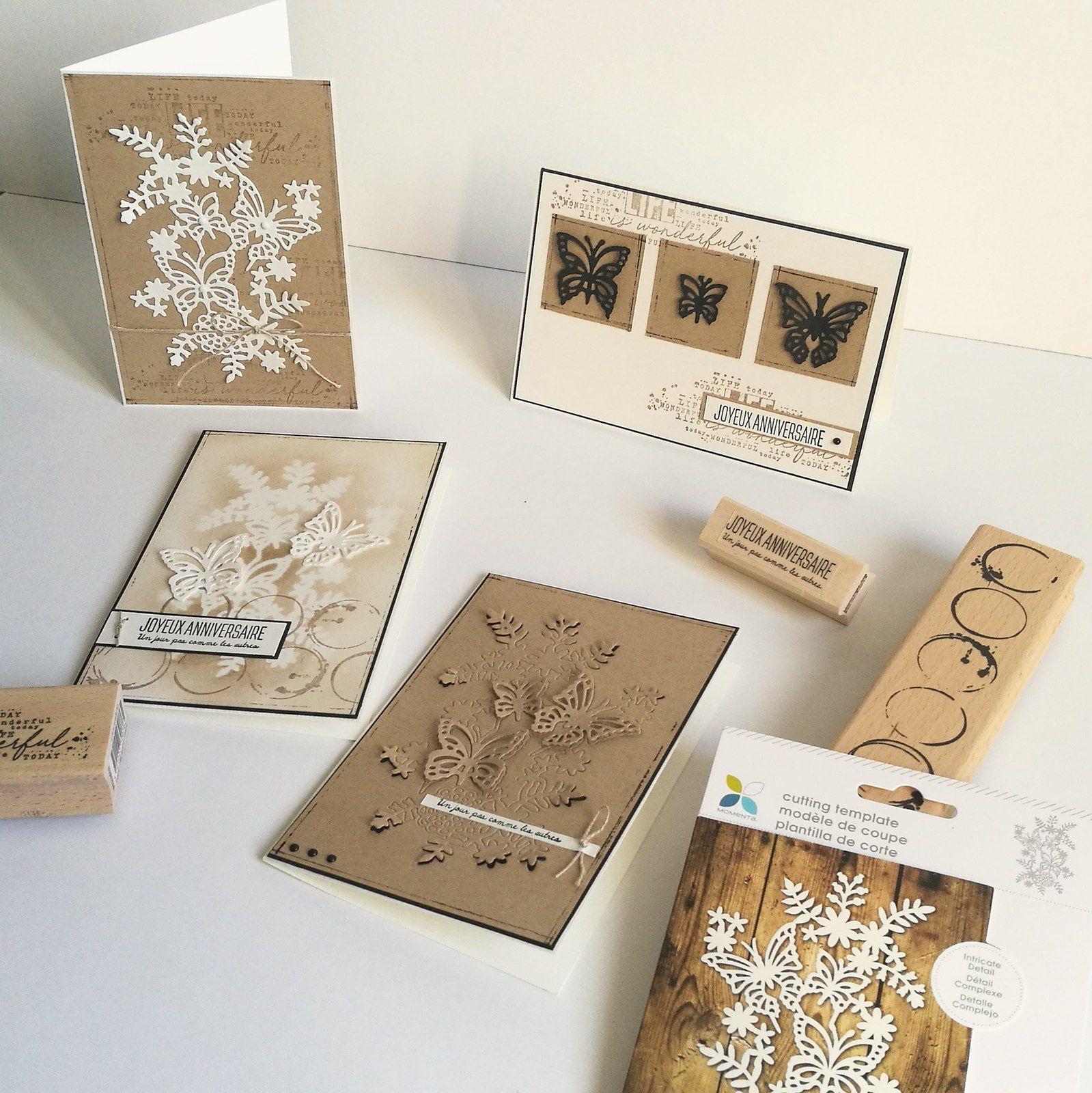 Une série de cartes pour Variations créatives