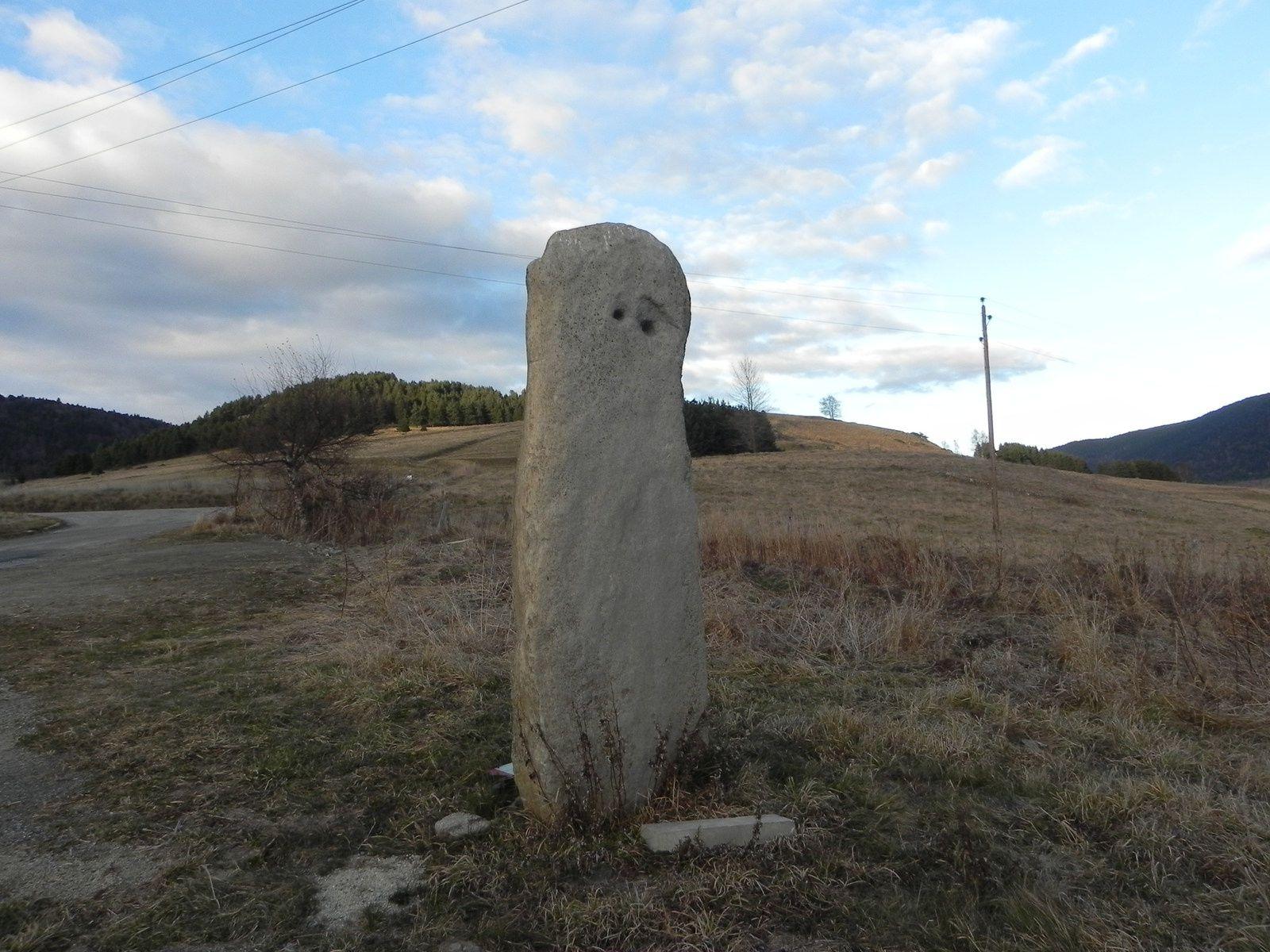 La plus gande statue menhir du Sud de la France !