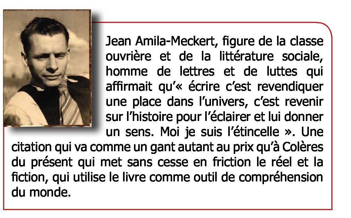 Vendredi 17 avril, Amila-Meckert à la librairie Quilombo - avec 813