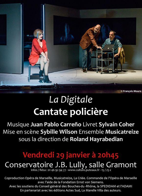 Prochainement sur France Musique. Les cantates policières
