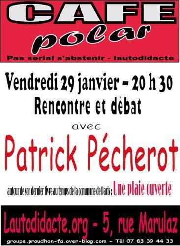Demain, Patrick Pécherot à Besançon