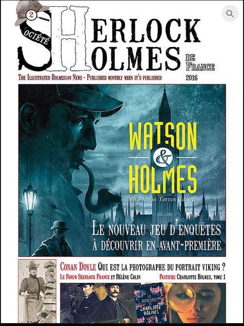 Sherlock Holmes n° 2 est paru