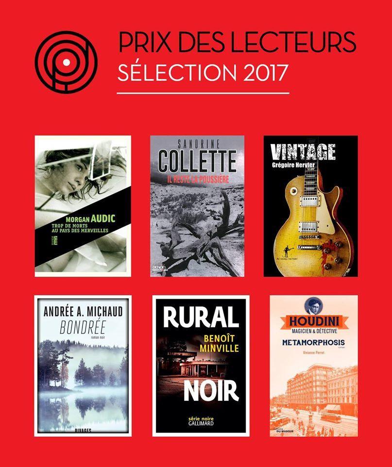Quais du polar, sélection pour le Prix des Lecteurs