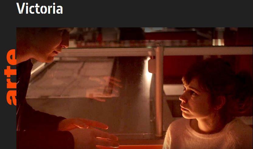 """mercredi 3 mai 2017 à 21h sur Arte, le film """"Victoria """""""