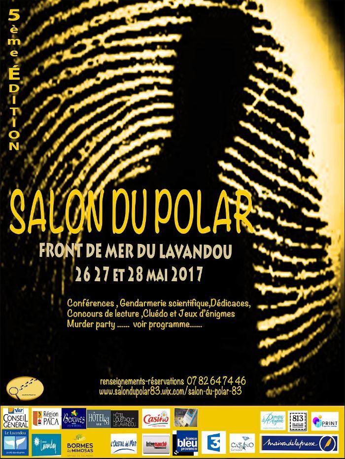 du 26 au 28 mai, salon du polar 83 (au Lavandou) avec 813