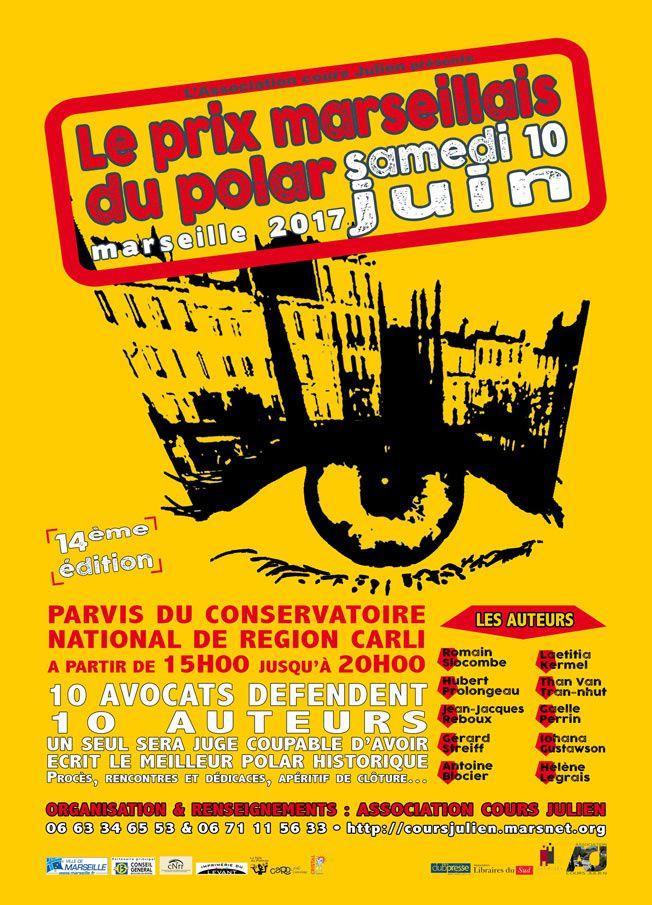 Marseille, le 10 juin,Les avocats plaideront pour des polars historiques