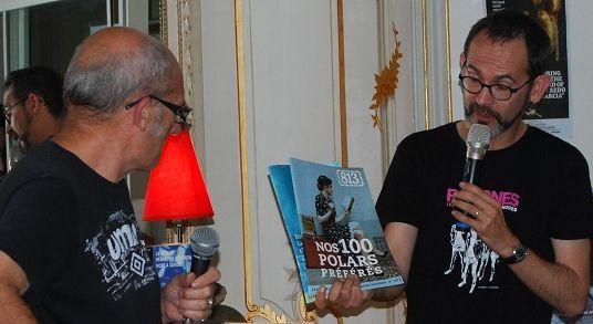 Bière 2017 - Proclamation résultats par Frédéric Prilleux (ici avec Denis Flageul)