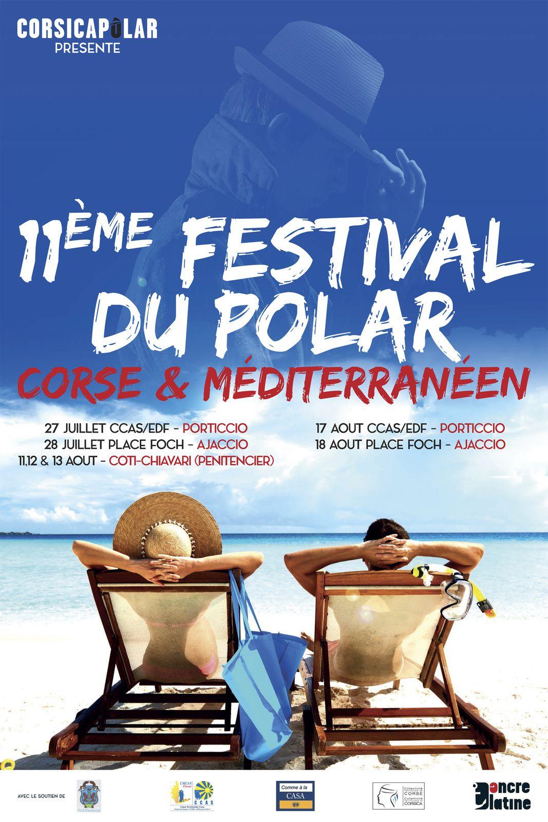 11-18 août,  11ème Festival du Polar Corse et Méditerranéen #2