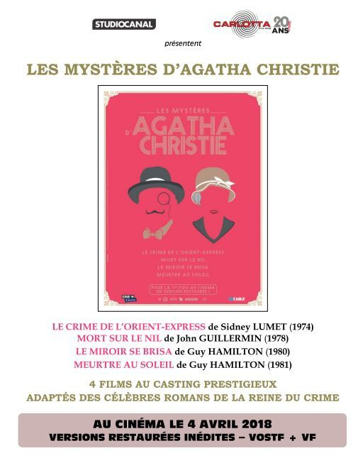Cycle Agatha Christie au Champo