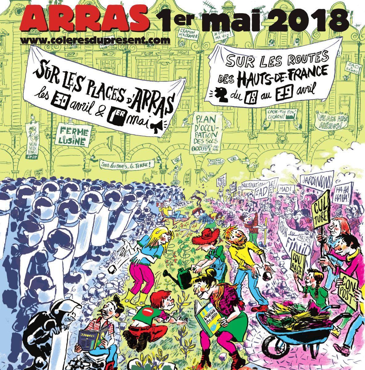 Le 1er mai, 813 est à Arras.