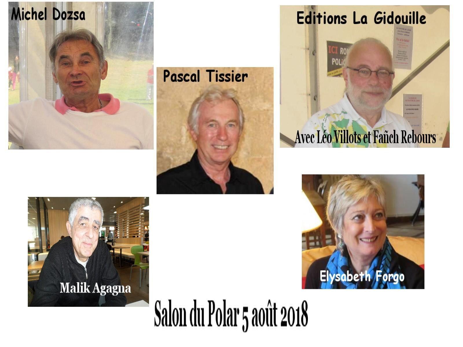 À Sable d'or les Pins, festival polars bretons, le 5 août