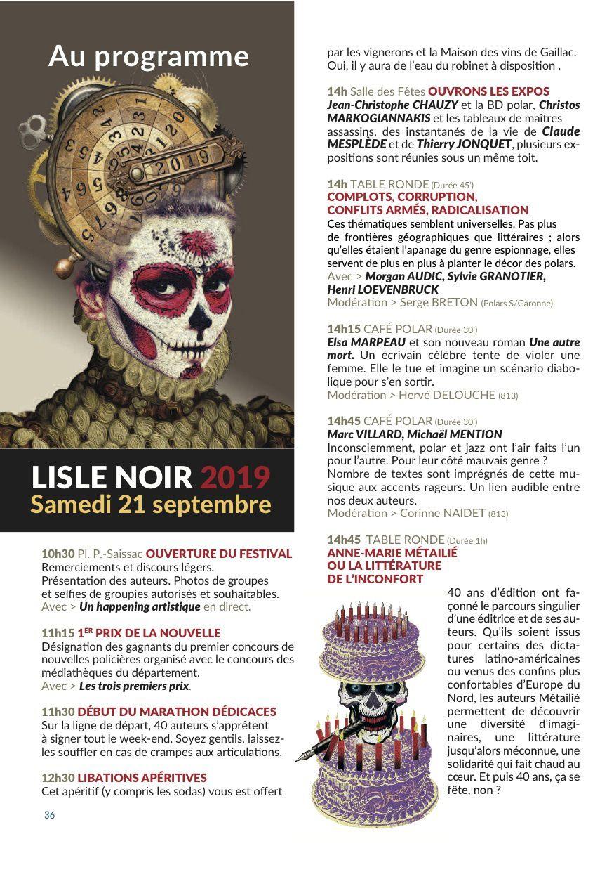 5e festival de l'Isle Noir (81) -avec 813