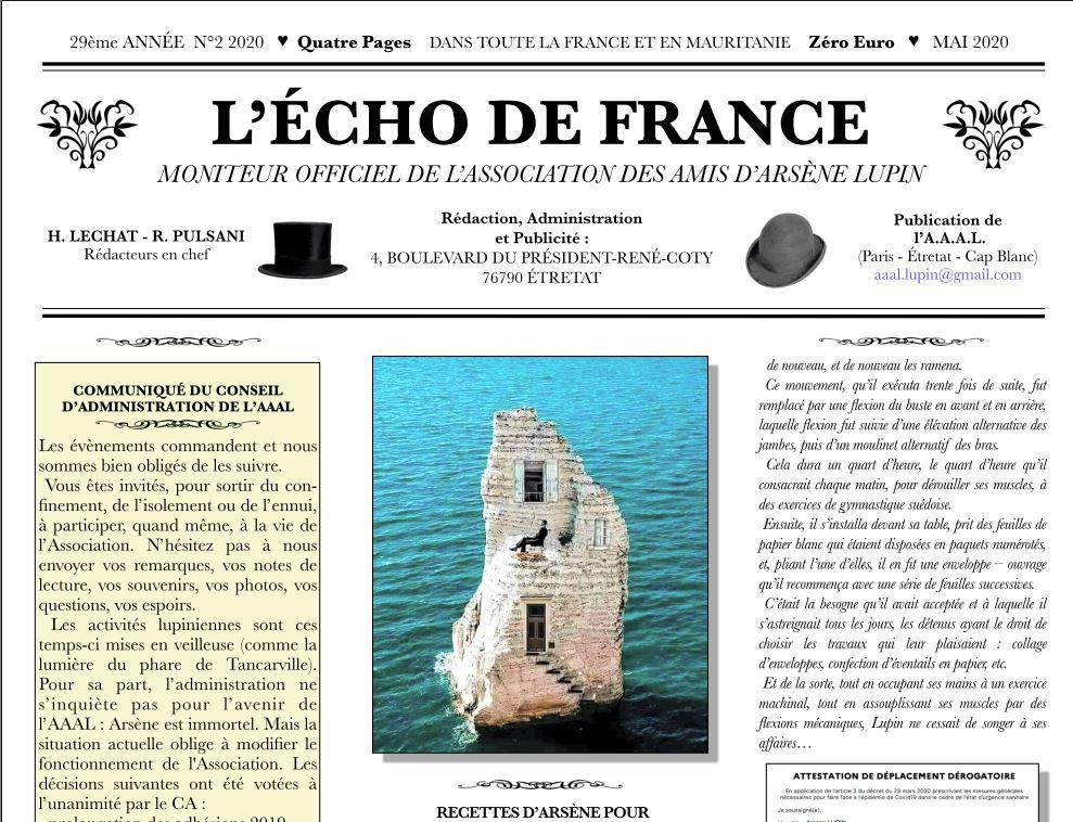 AAAL : Écho de France n°2 2020