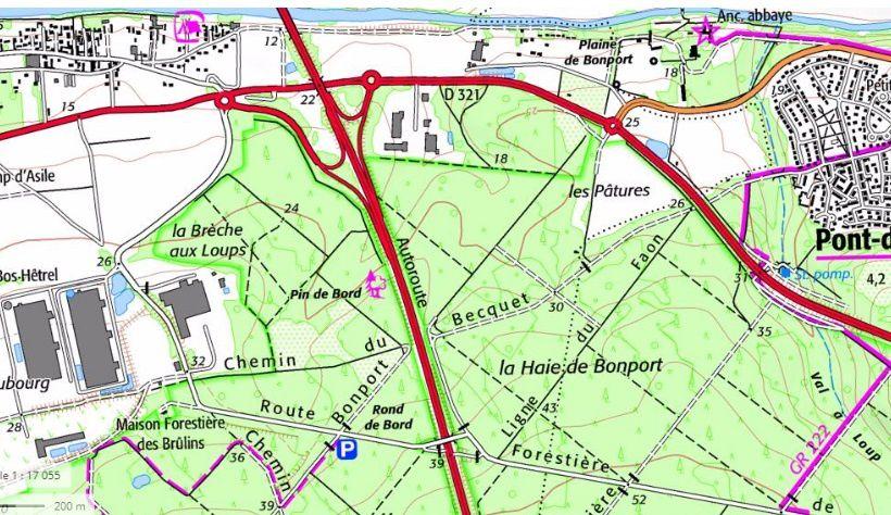 À la recherche de Saint-Martin de Maresdans (ou Maresdamps, entre Criquebeuf-sur-Seine et Pont-de-l'Arche)