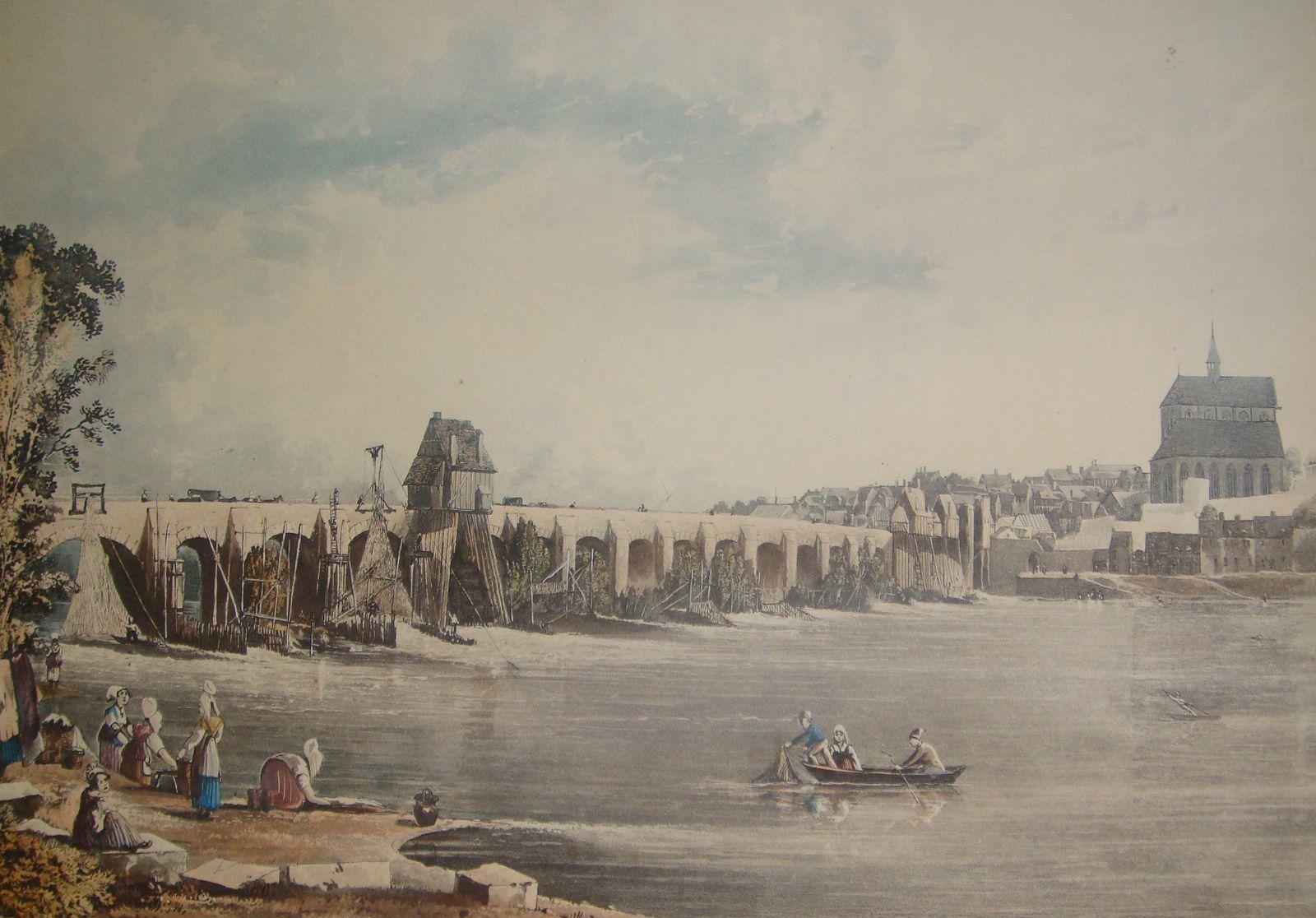 Les lavandières à Pont-de-l'Arche : balade en images autour d'un labeur révolu.