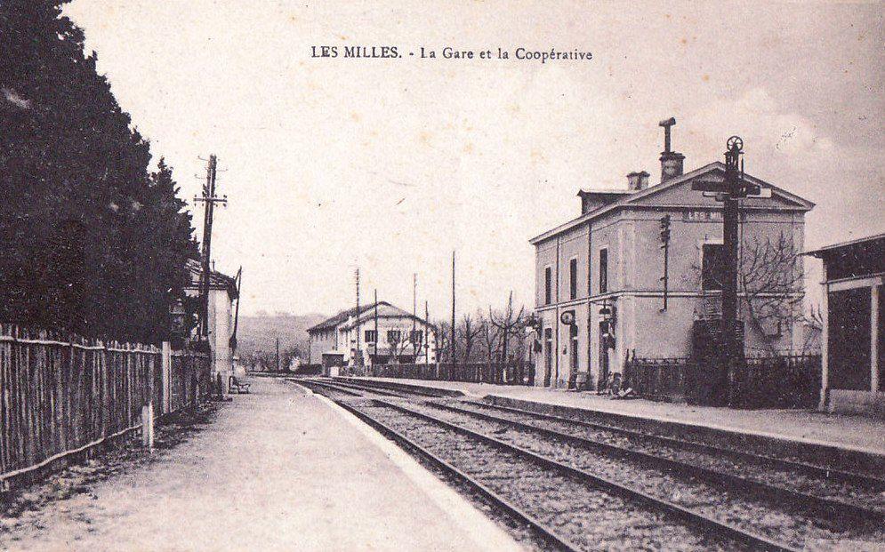 Cave coopérative Les Milles.