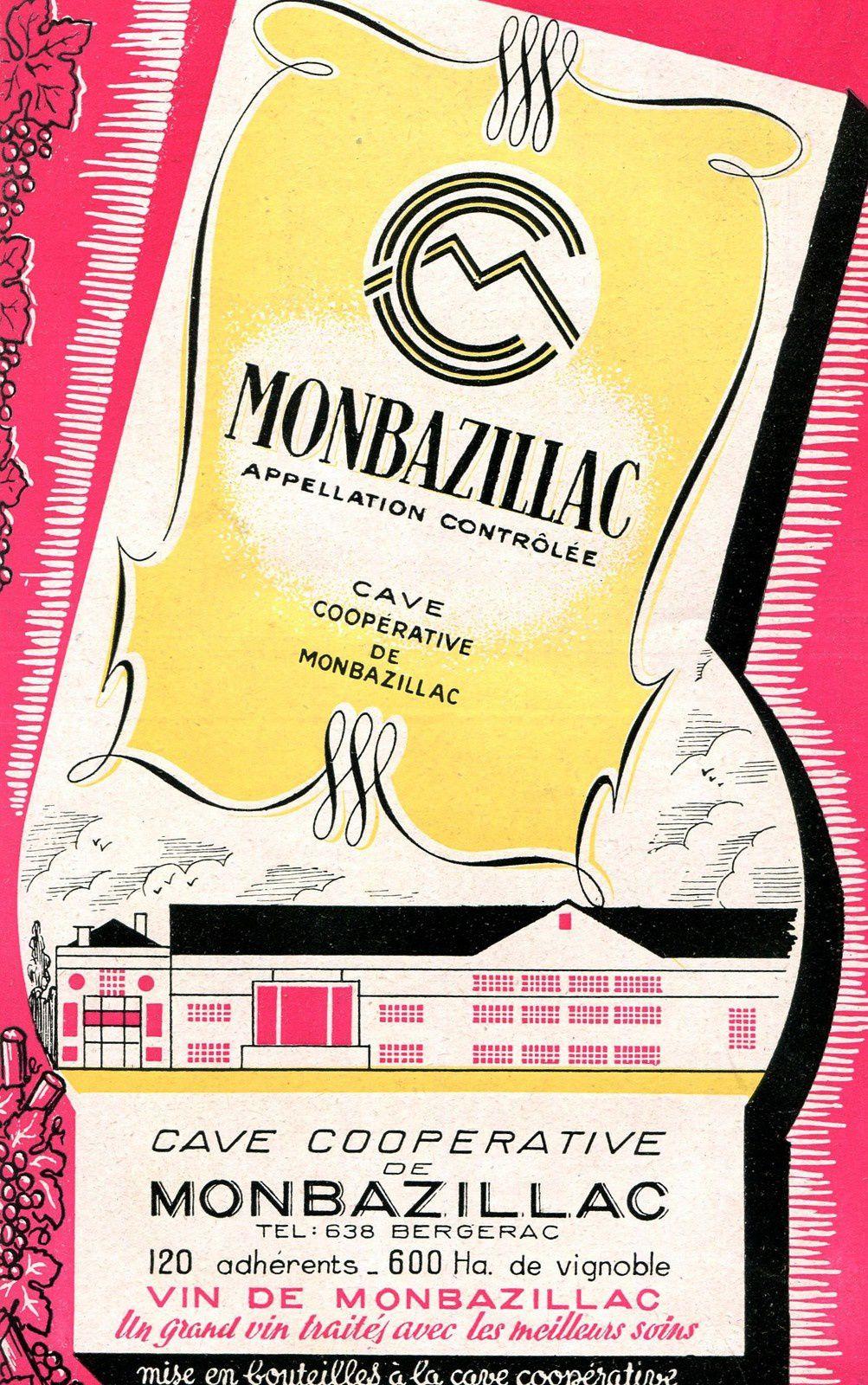 MONBAZILLAC (Dordogne) : la cave coopérative.