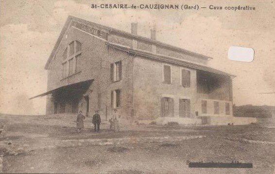 Cave coopérative de Saint-Césaire-de-Gauzignan.