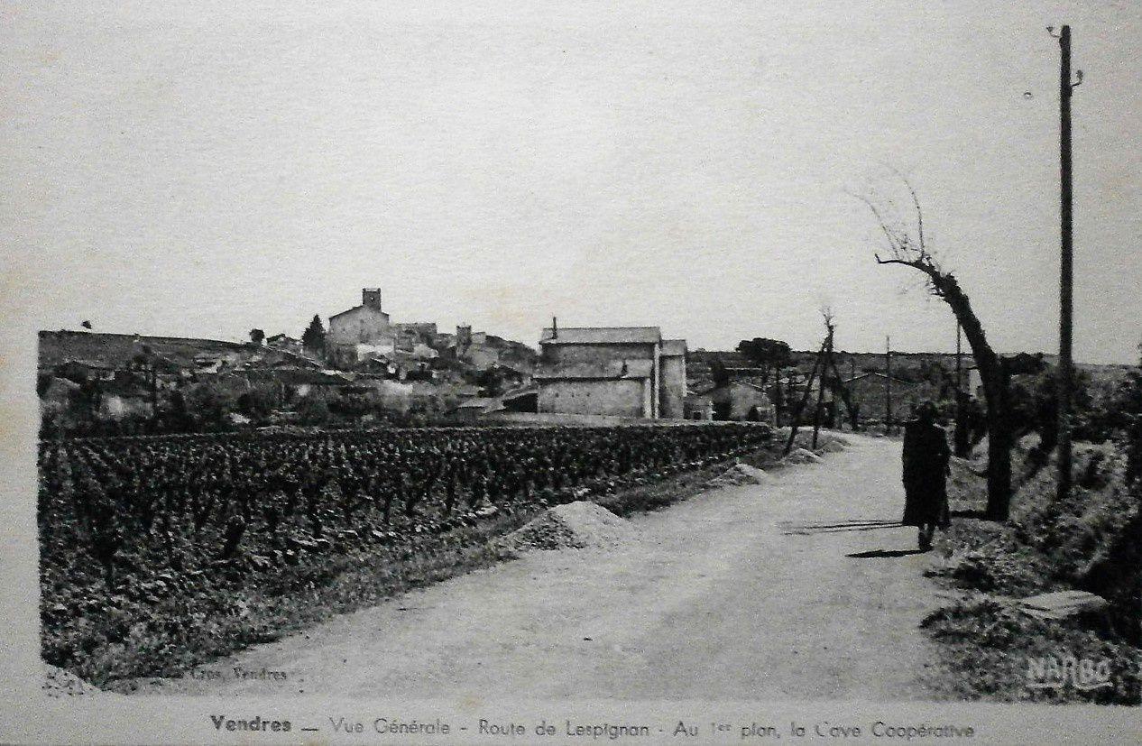 Distillerie coopérative de Vendres (Hérault)  créée en 1929.