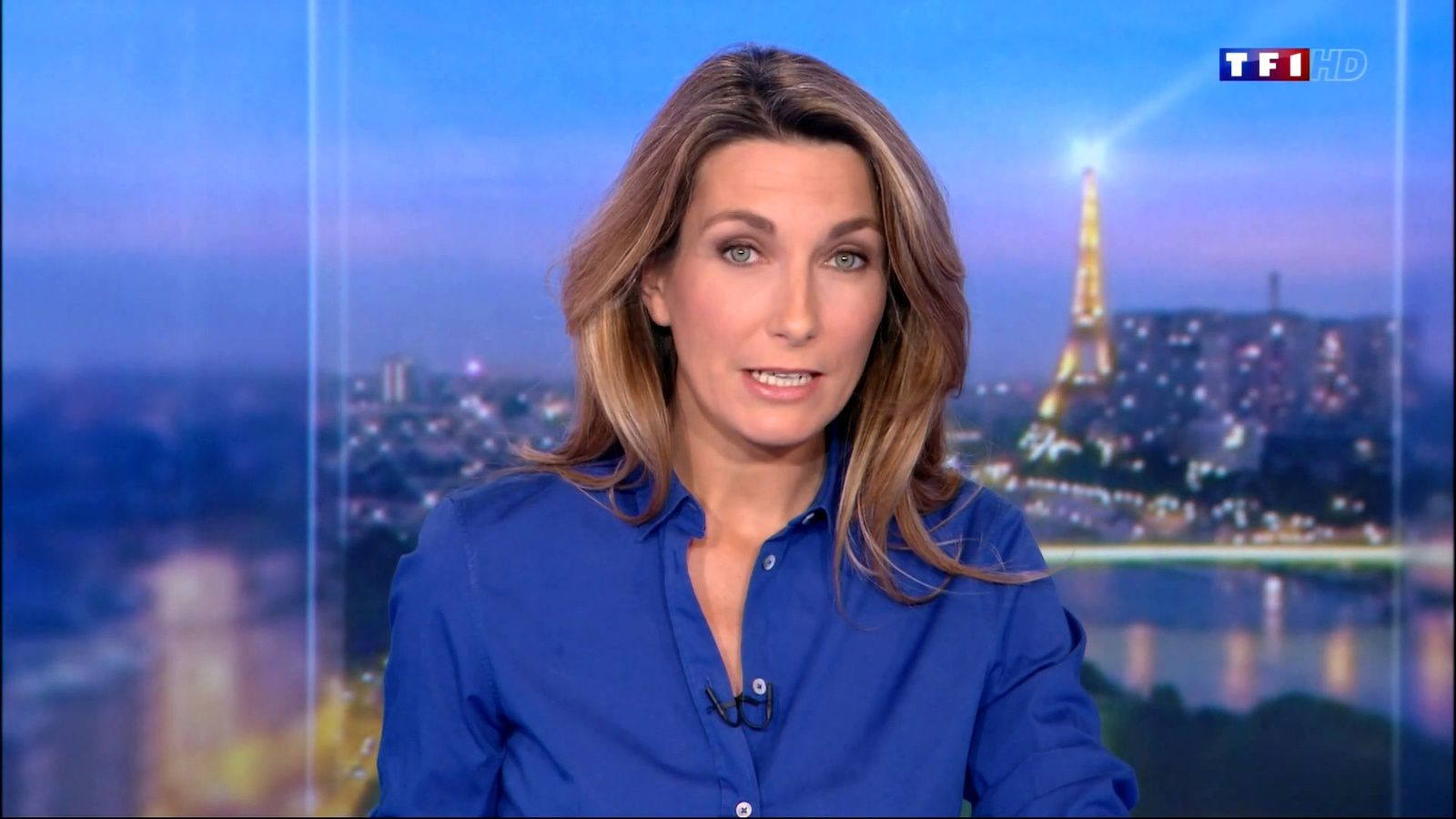 Anne-Claire Coudray 18-10-2015 20h - ressemblance frappante