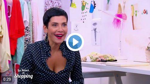Cristina Cordula la reine de la mode mais aussi du décolleté