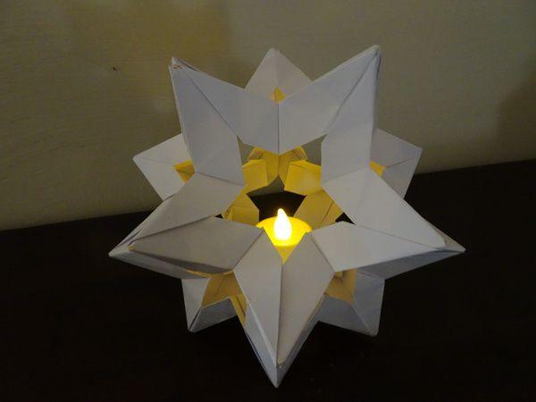 Kusudama pour Noël