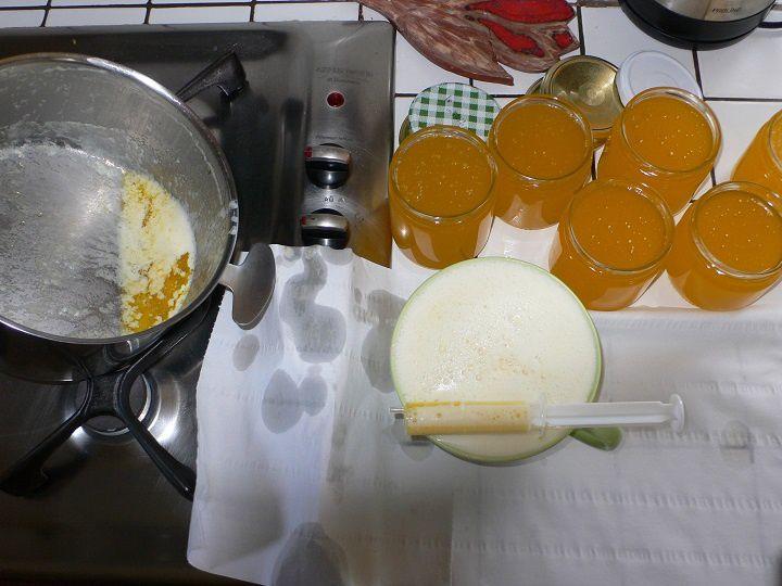 GHEE ou beurre clarifié, appelé GHEE dans les pays d'Orient ou Smen dans d'autres parties du monde.